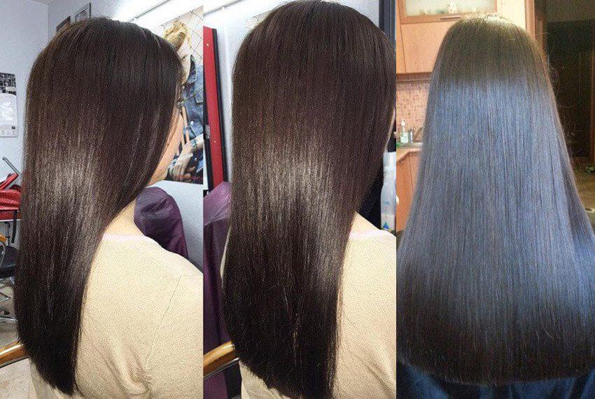 Кератин, полировка волос