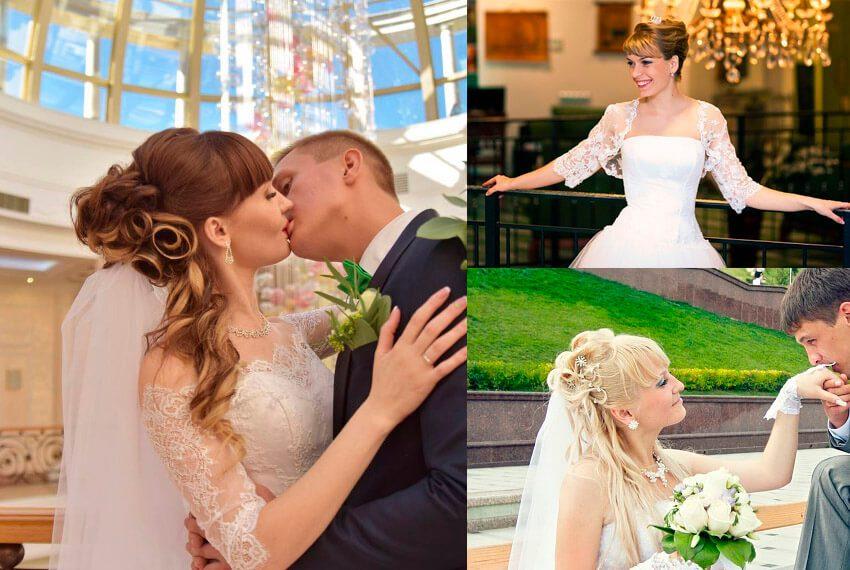 Свадебные прически Тюмень