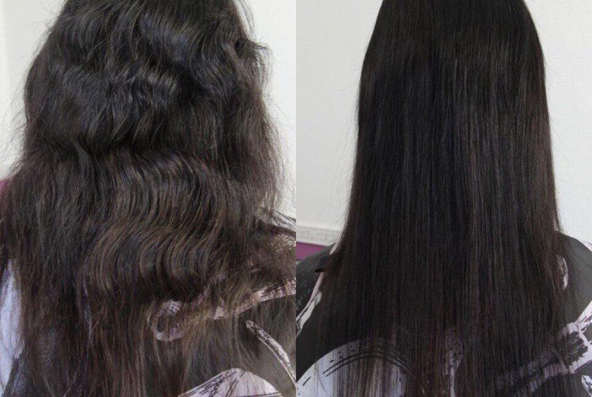 Полировка секущихся волос
