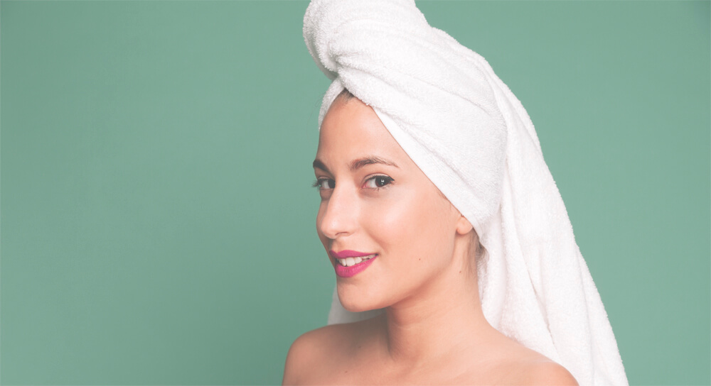 Мытье головы